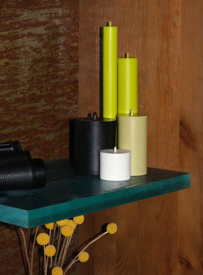 Набор GREEN CANDLES SET S SB_SET_GRN-5, фото 1 - в интернет магазине KAPSULA