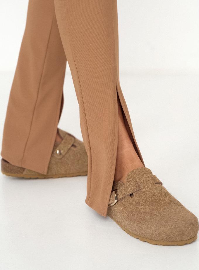 Тапочки из войлока BRILLAN BEIG ETP_BRILLAN-BEIG, фото 1 - в интернет магазине KAPSULA