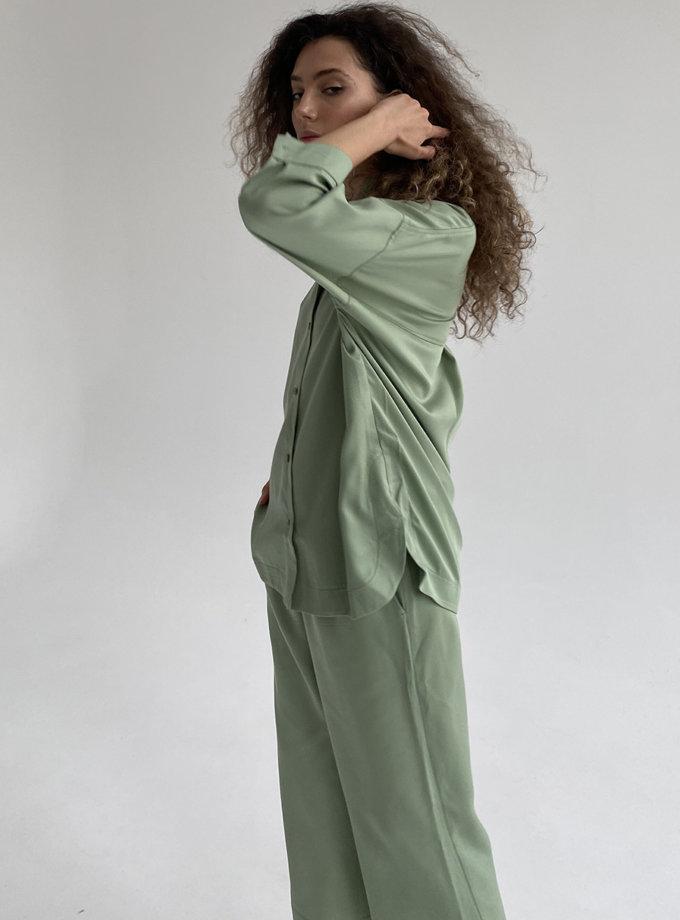 Костюм з вкороченими брюками ETP_ EWtensel-mint, фото 1 - в интернет магазине KAPSULA