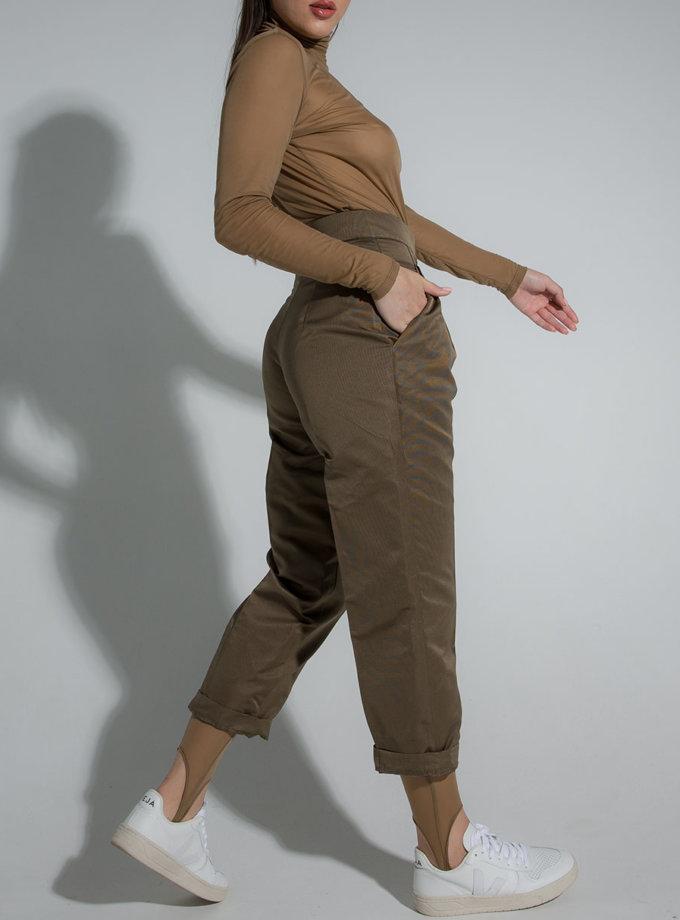 Брюки шовкові SLR_SS21_6, фото 1 - в интернет магазине KAPSULA