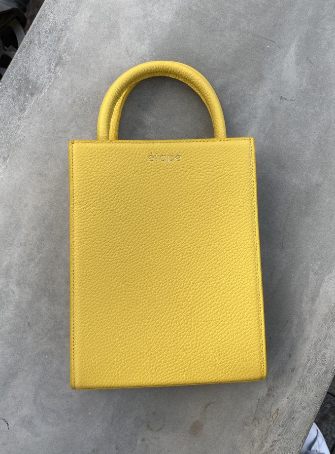 Шкіряна сумка TOY BAG ETP_TOY-BAG-888-OR, фото 1 - в интернет магазине KAPSULA