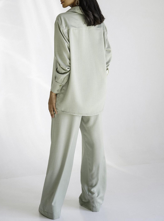 Шовковий костюм Amri MC_MY3520-1, фото 1 - в интернет магазине KAPSULA