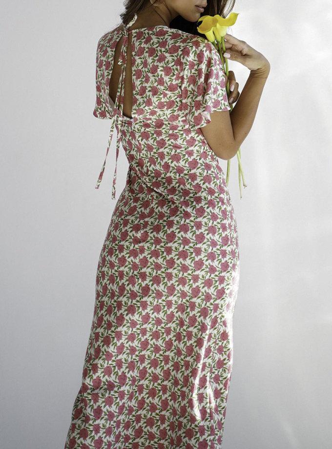 Сукня міді Diana MC_MY5120-1, фото 1 - в интернет магазине KAPSULA