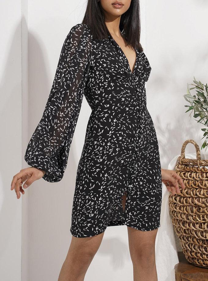 Сукня Anna зі з'ємним коміром MC_MY7921-2, фото 1 - в интернет магазине KAPSULA