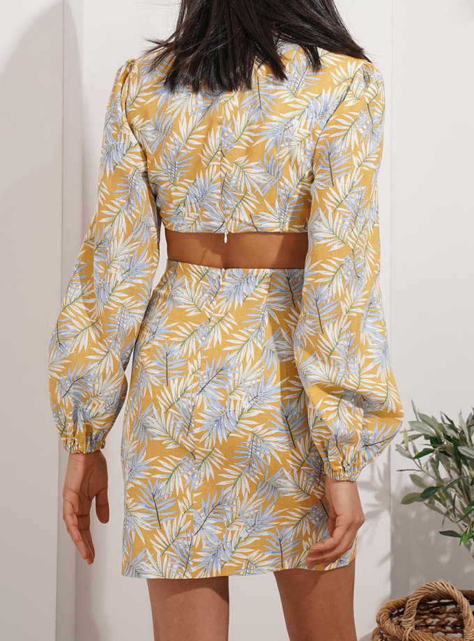 Льняна сукня Rumi MC_MY8021-1, фото 1 - в интернет магазине KAPSULA