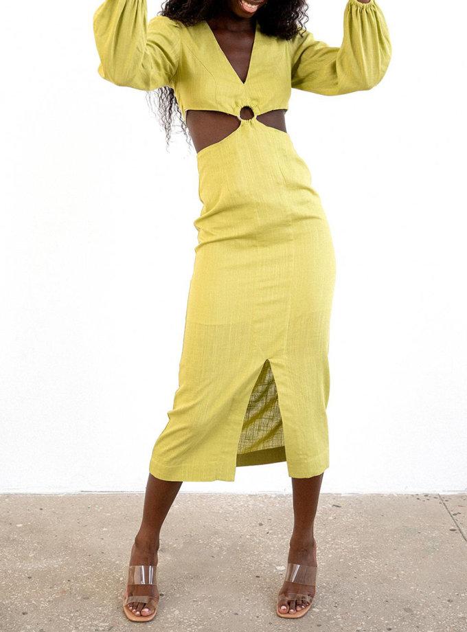 Льняна сукня Rumi MC_MY8021-2, фото 1 - в интернет магазине KAPSULA