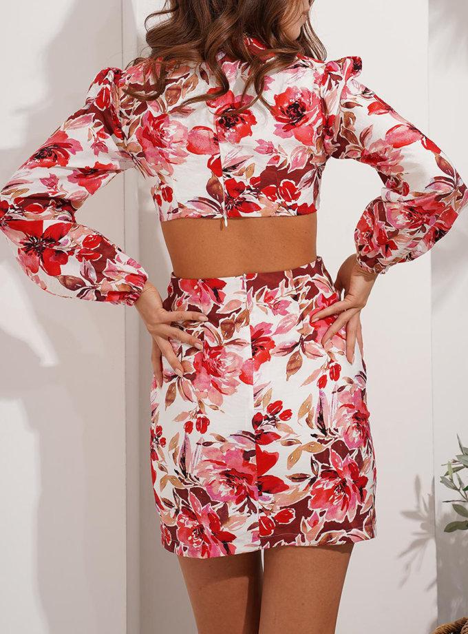 Хлопковое платье Rumi MC_MY8021, фото 1 - в интернет магазине KAPSULA
