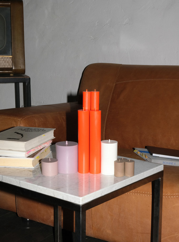 Набор ORANGE CANDLES SET М SB_SET_ORN-10, фото 1 - в интернет магазине KAPSULA