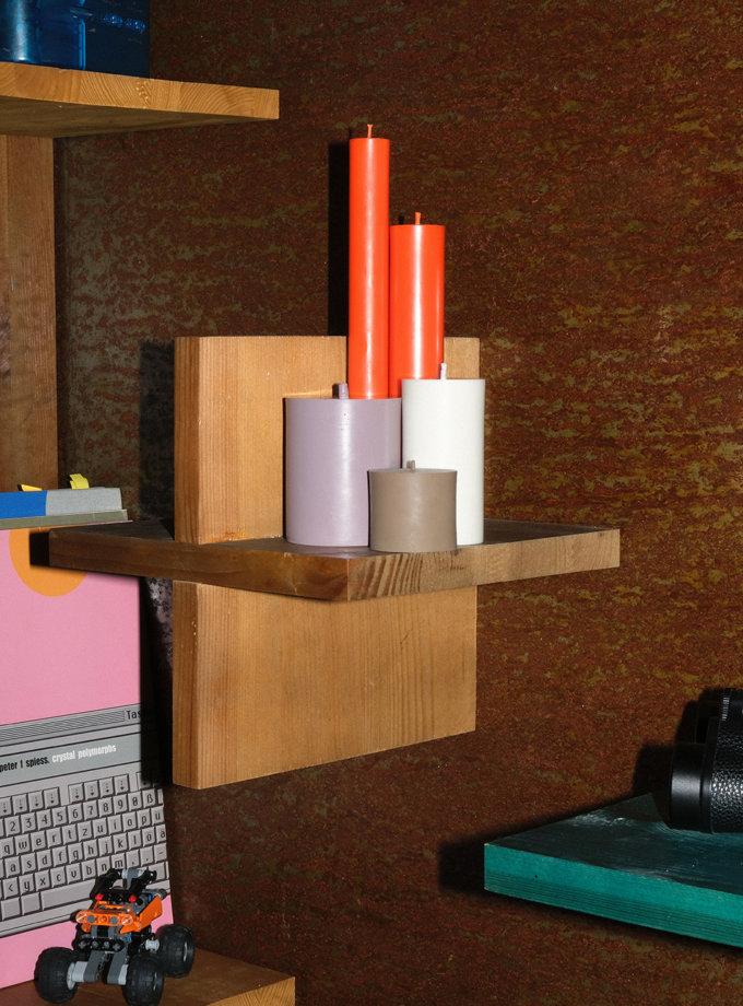 Набор ORANGE CANDLES SET S SB_SET_ORN-5, фото 1 - в интернет магазине KAPSULA