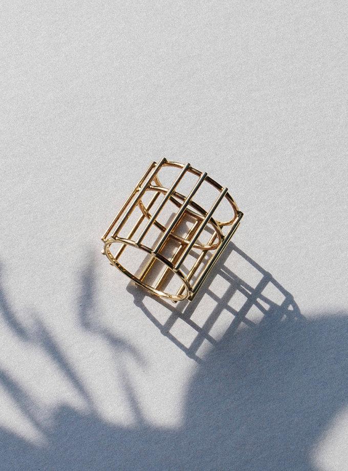 Кольцо-Подвеска из желтого золота RAJ_RRA-018, фото 1 - в интернет магазине KAPSULA