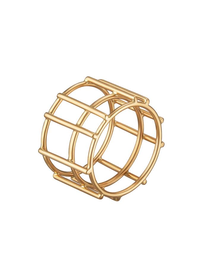 Кольцо-Подвеска из желтого золота RAJ_RRA-019, фото 1 - в интернет магазине KAPSULA