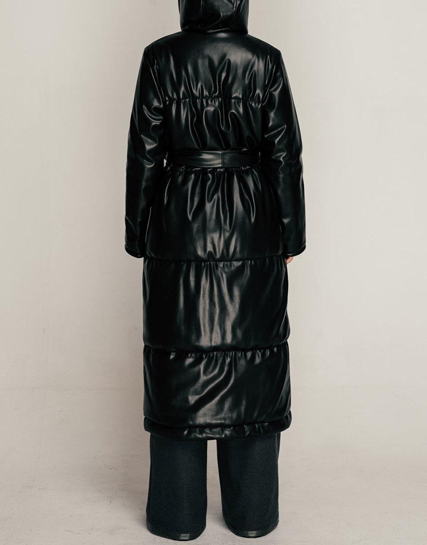 Пальто из эко-кожи SE_SE21-Ct-Aquifo-B, фото 1 - в интернет магазине KAPSULA