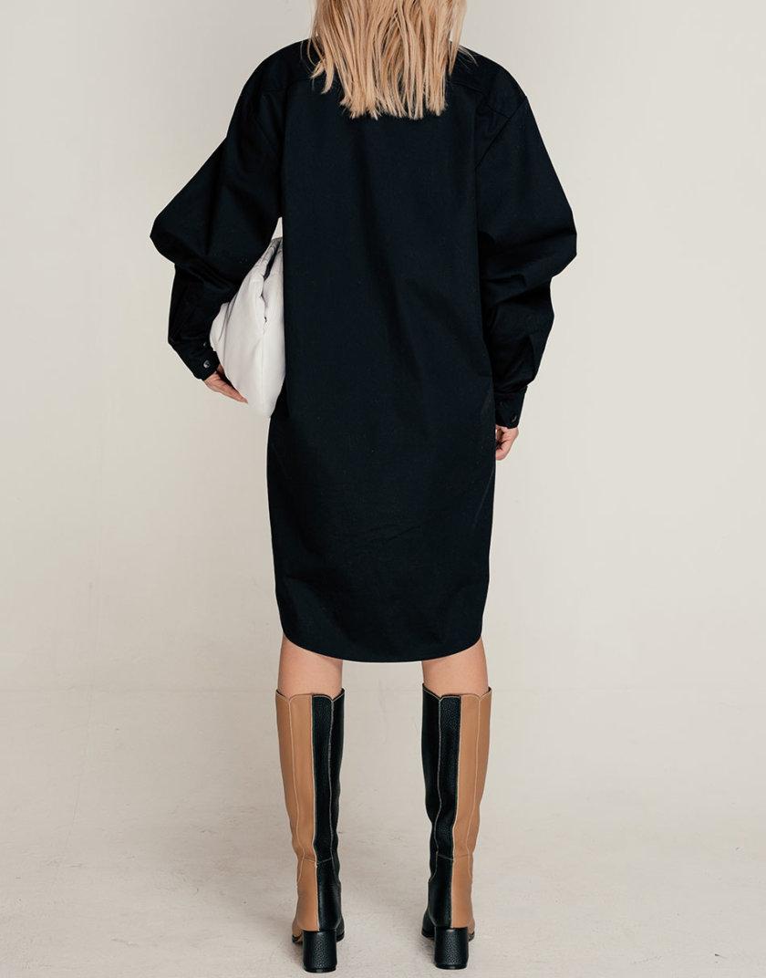 Хлопковое платье-рубашка SE_SE21-Dr-Bitale-B, фото 1 - в интернет магазине KAPSULA