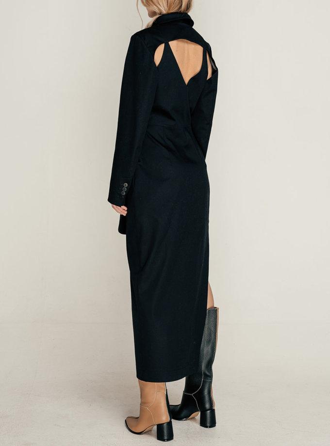 Хлопковое платье-жакет SE_SE21-Dr-Cornal-B, фото 1 - в интернет магазине KAPSULA