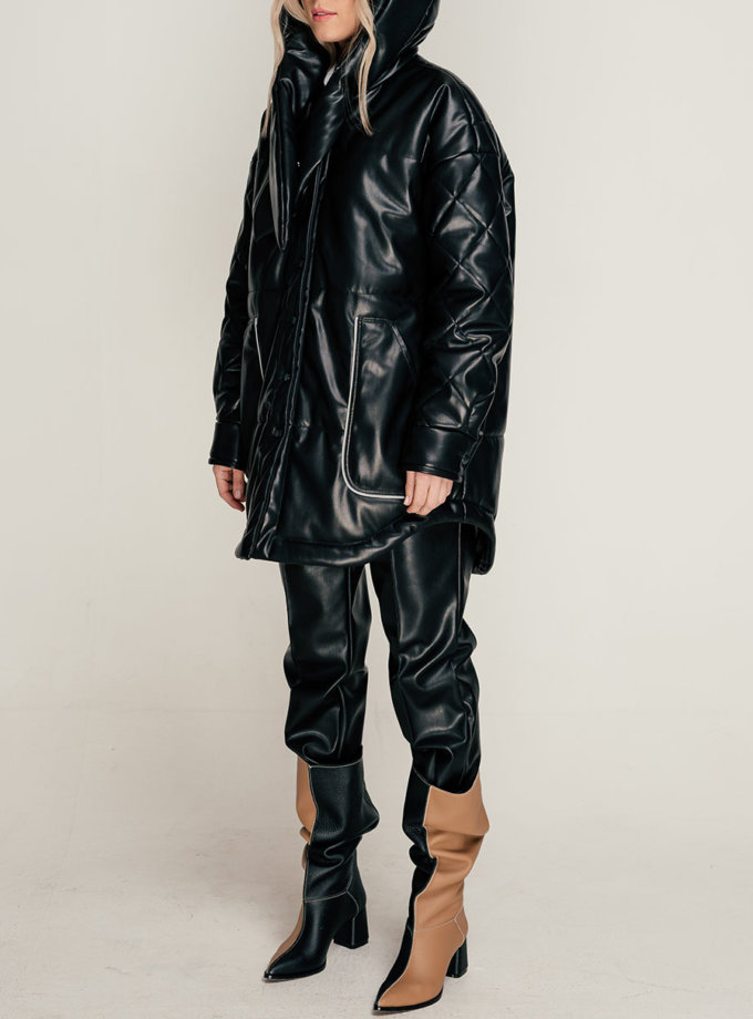 Куртка из эко-кожи SE_SE21-Jc-Astera-B, фото 1 - в интернет магазине KAPSULA
