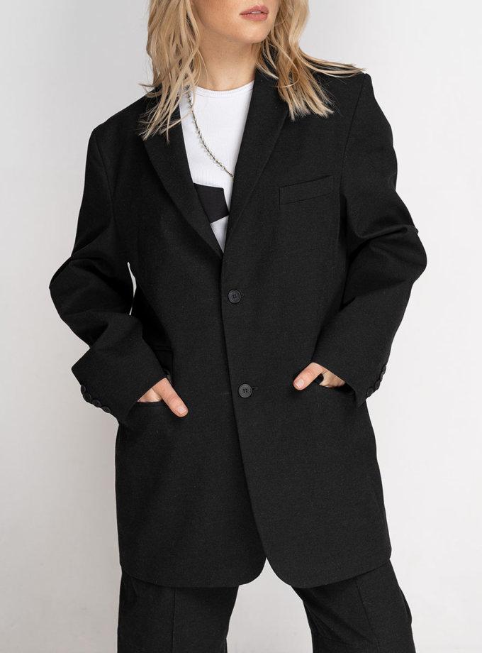 Жакет напівприталеного силуету SE_SE21-Jc-Vahli-B, фото 1 - в интернет магазине KAPSULA