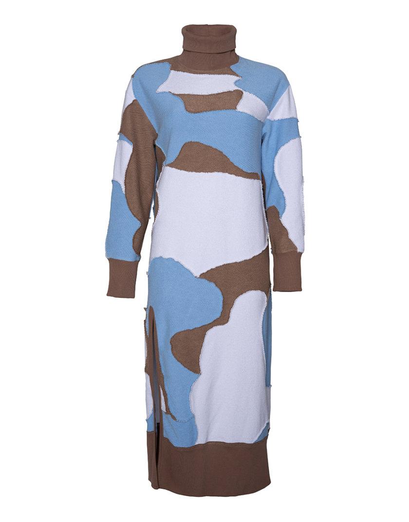 Хлопковое платье SE_SE21-Dr-Leya-WBlBg, фото 1 - в интернет магазине KAPSULA