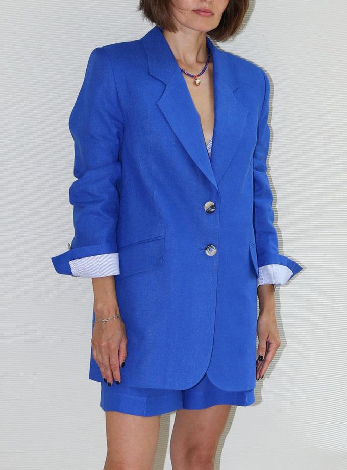 Пиджак из льна VONA_SS-21-62, фото 1 - в интернет магазине KAPSULA