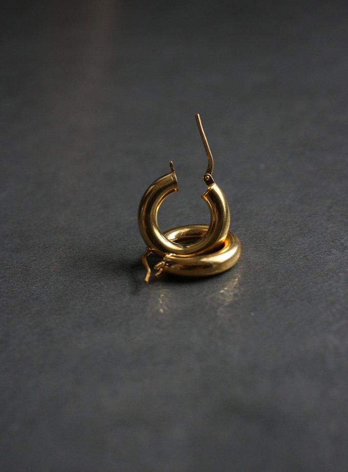 Сережки кільця SLR_SSER_014, фото 1 - в интернет магазине KAPSULA
