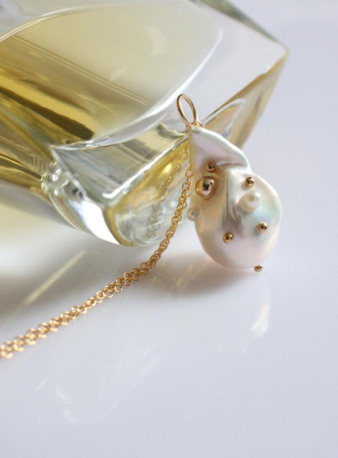 Ланцюжок з перлиною бароко SLR_SSN_006, фото 1 - в интернет магазине KAPSULA