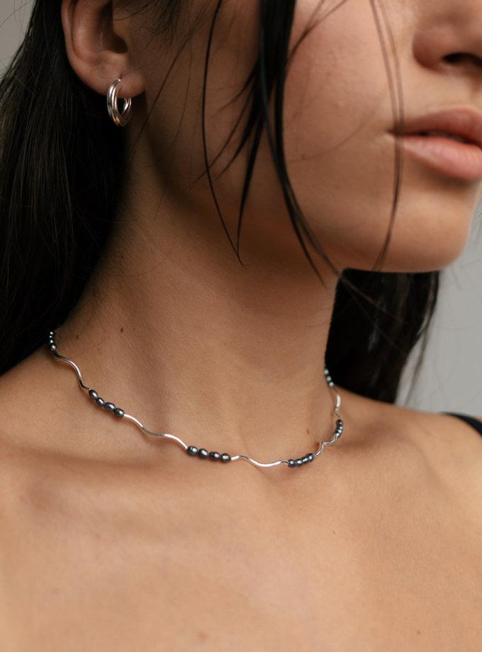 Чокер зі срібла SLR_SSN_008, фото 1 - в интернет магазине KAPSULA