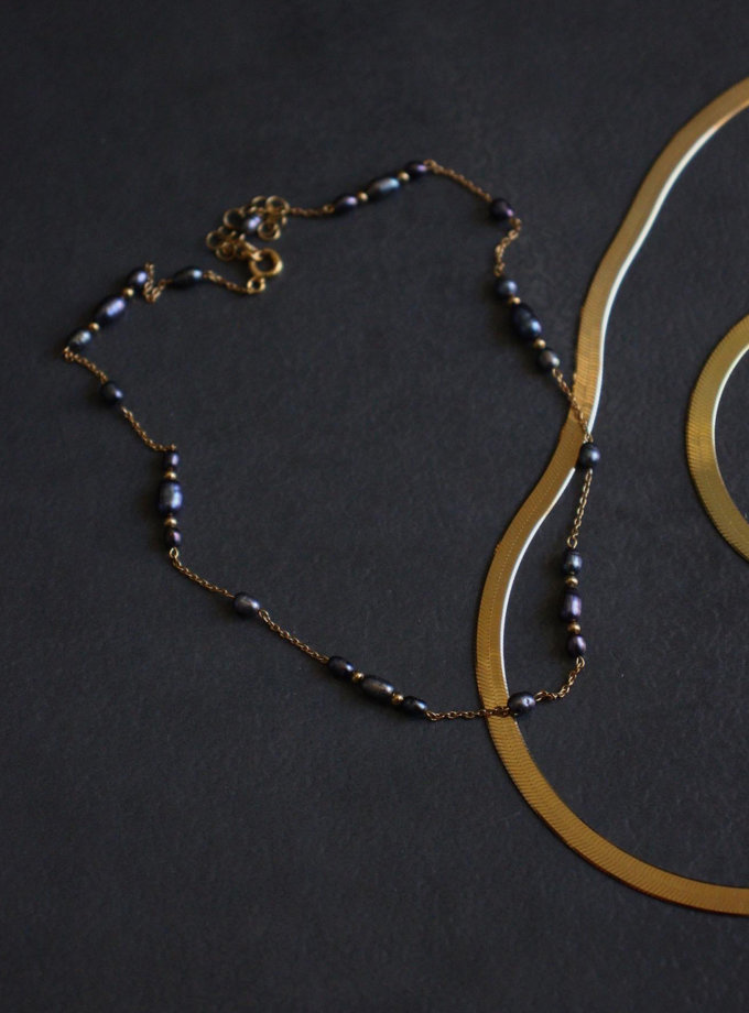 Чокер з перлин SLR_SSN_015, фото 1 - в интернет магазине KAPSULA