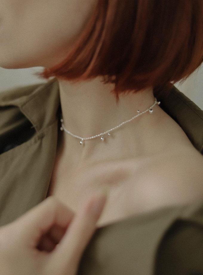Чокер з перлин з дропсами SLR_SSN_020, фото 1 - в интернет магазине KAPSULA