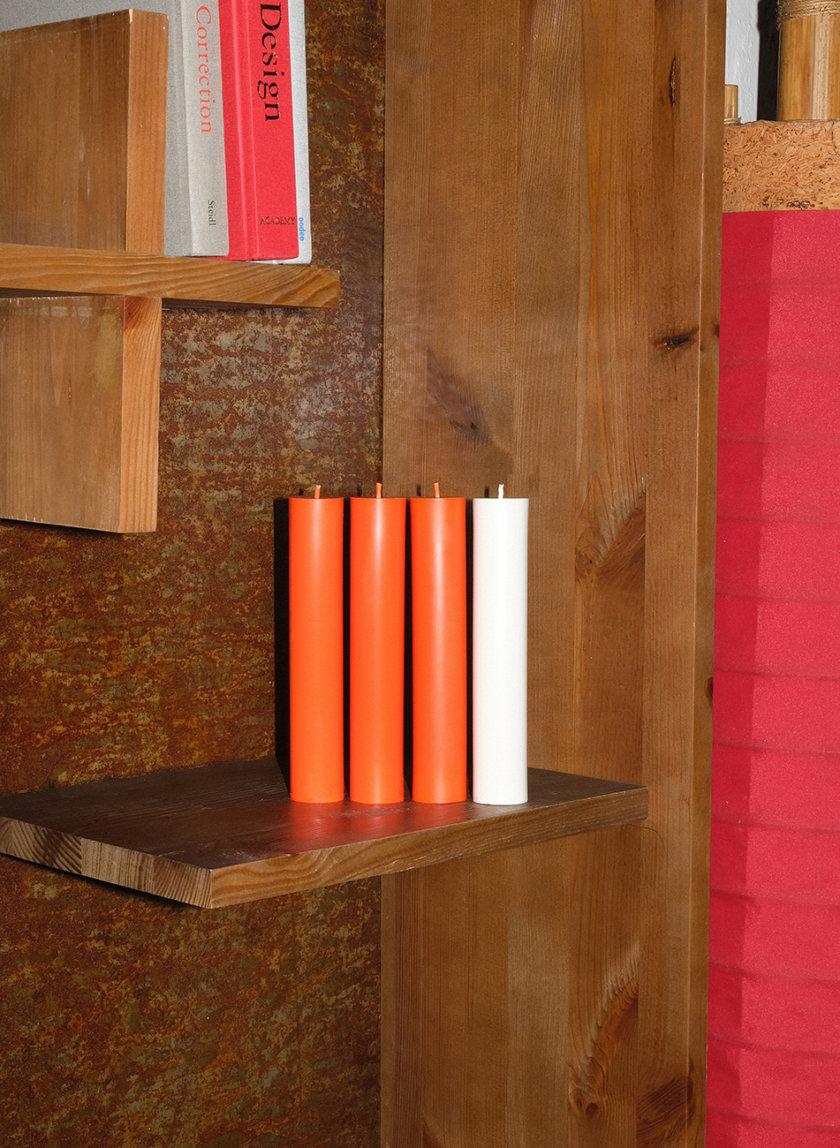 Набор WHITE CANDLES SET PILLAR SB_PL_WH-4, фото 1 - в интернет магазине KAPSULA