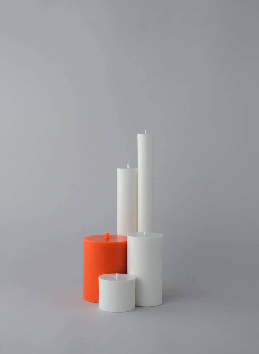 Набор WHITE CANDLES SET S SB_SET_WH-5, фото 1 - в интернет магазине KAPSULA