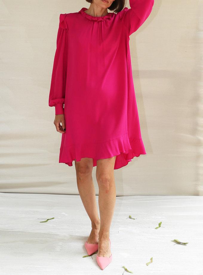 Платье мини из хлопка VONA_SS-21-74, фото 1 - в интернет магазине KAPSULA