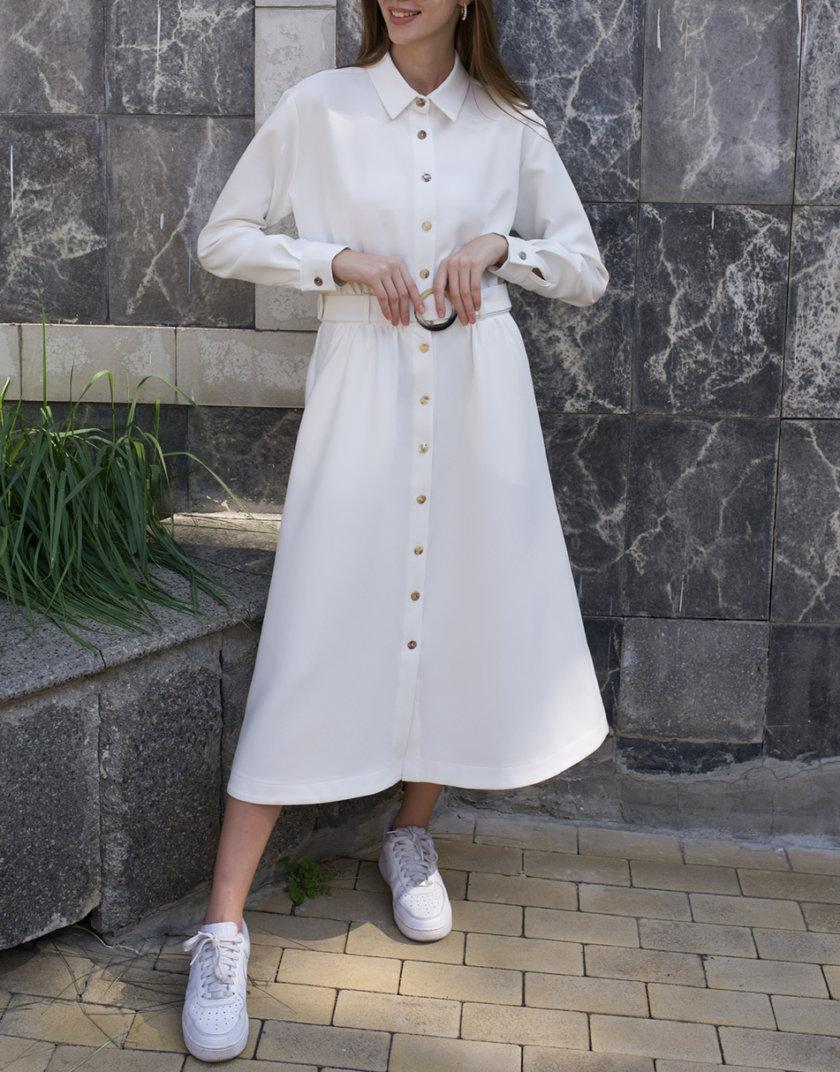Платье-рубашка с поясом AY_3257, фото 1 - в интернет магазине KAPSULA