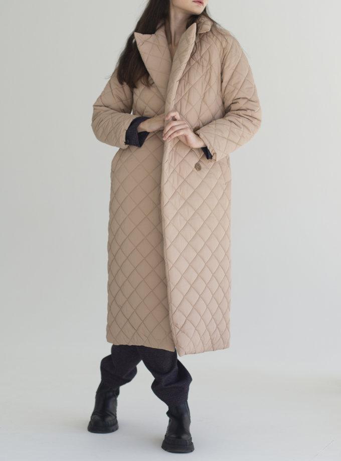 Пальто стьобане Vichy VVT_2452, фото 1 - в интернет магазине KAPSULA