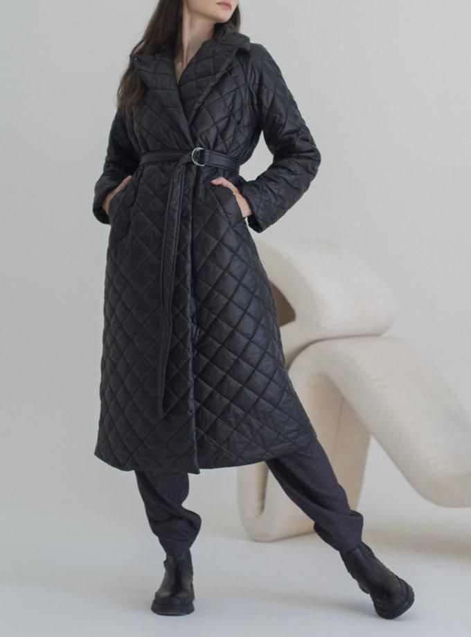Пальто стьобане Vichy VVT_2454, фото 1 - в интернет магазине KAPSULA