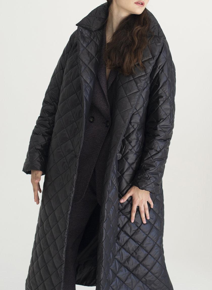 Пальто стеганое Vichy VVT_2454, фото 1 - в интернет магазине KAPSULA