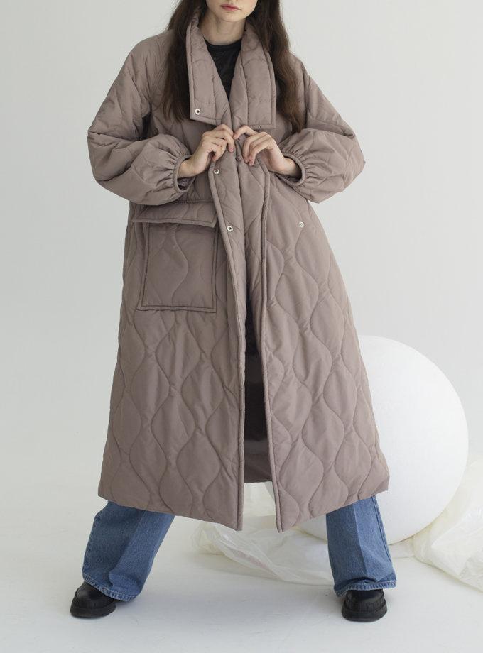 Пальто стьобане Kyoto VVT_2456, фото 1 - в интернет магазине KAPSULA