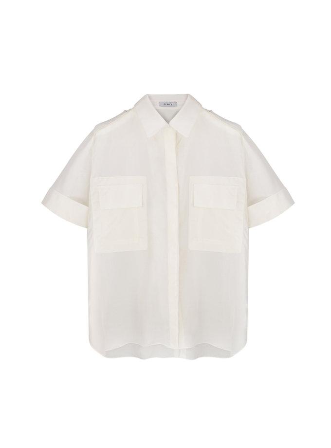 Прозрачная блуза IRRO_IR_FW21_SS_010, фото 1 - в интернет магазине KAPSULA
