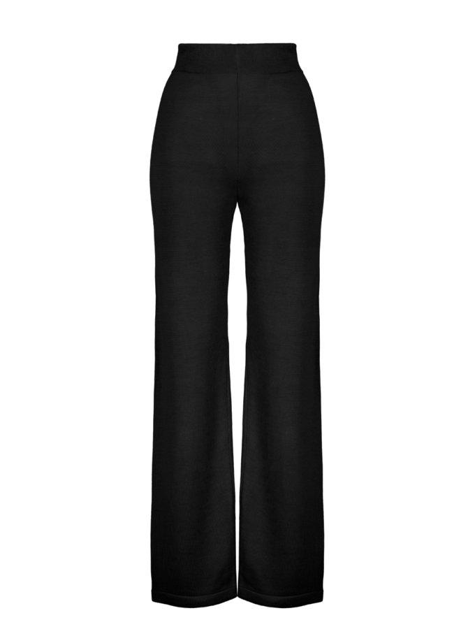 Шерстяные брюки ELLE black SYI_CS_18423-kapsula, фото 1 - в интернет магазине KAPSULA