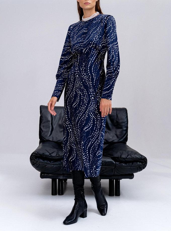 Сукня Frida з рукавами-ліхтариками MC_MY0122-blue, фото 1 - в интернет магазине KAPSULA