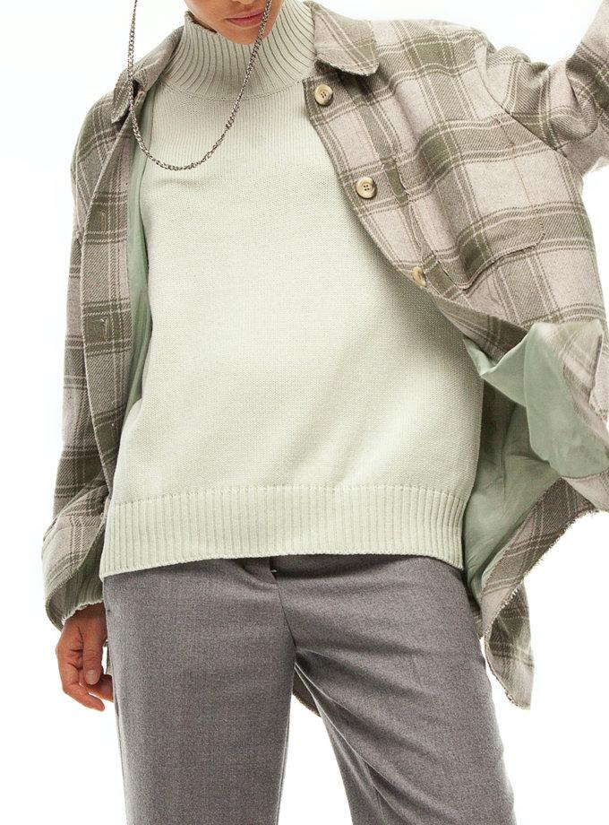 Пальто сорочка в клітинку IAM_14wl03kl, фото 1 - в интернет магазине KAPSULA