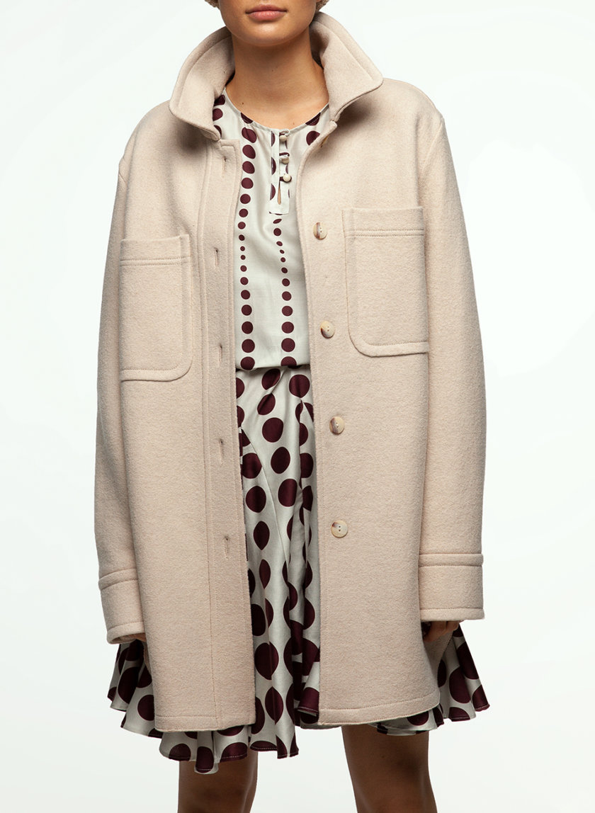 Пальто-рубашка IAM_14wl06, фото 1 - в интернет магазине KAPSULA