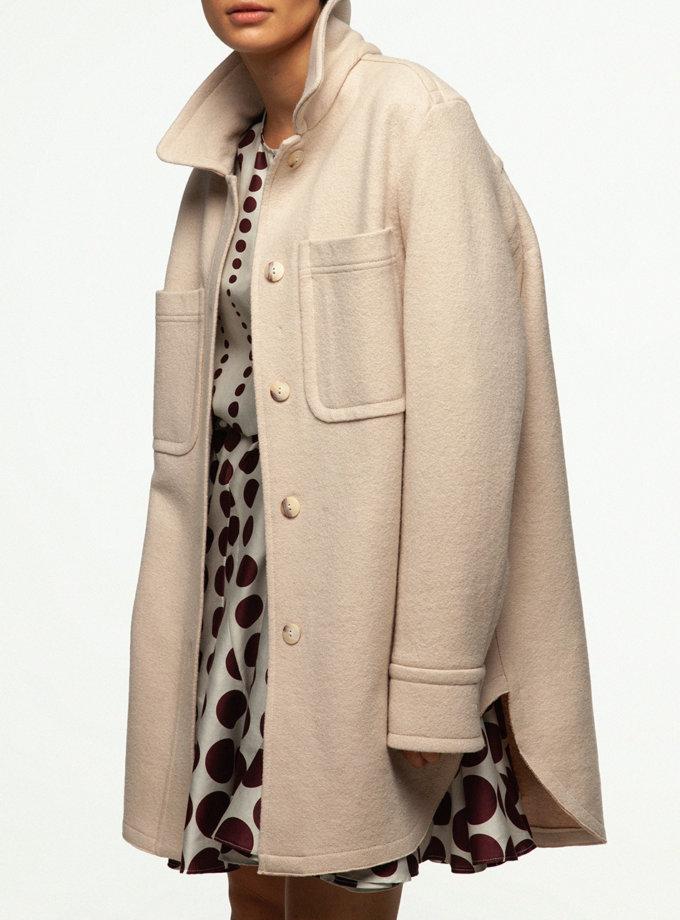Пальто сорочка IAM_14wl06, фото 1 - в интернет магазине KAPSULA