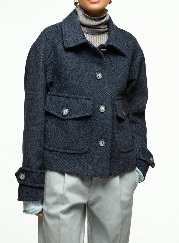 Вкорочене пальто IAM_17wl09, фото 1 - в интернет магазине KAPSULA