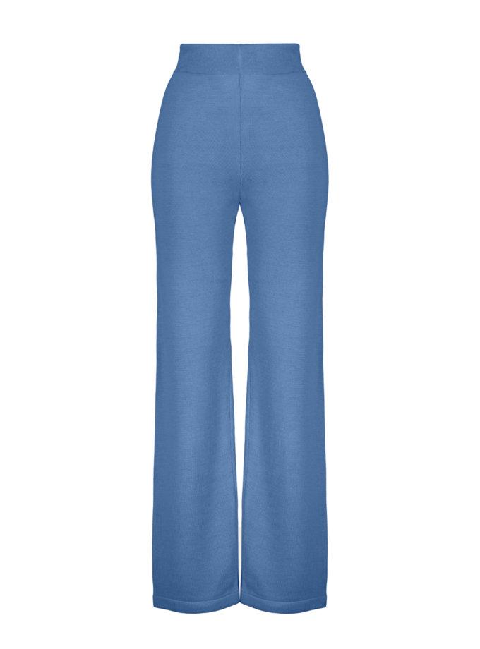 Шерстяные брюки ELLE blue SYI_CS_18426-kapsula, фото 1 - в интернет магазине KAPSULA