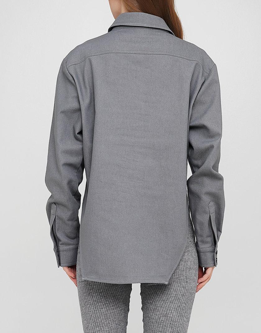 Джинсовая рубашка AY_3250, фото 1 - в интернет магазине KAPSULA