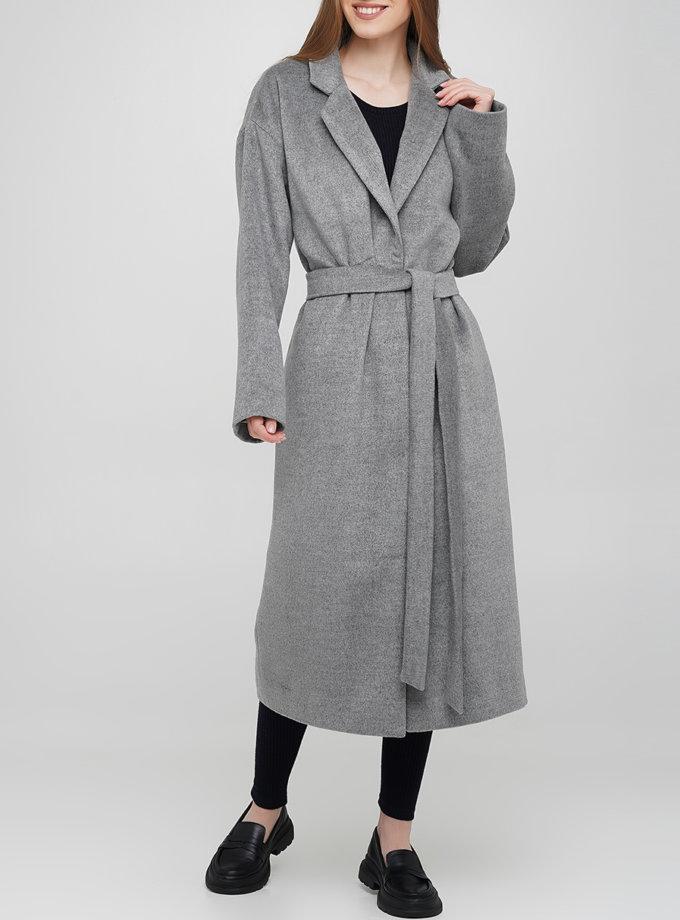 Шерстяное пальто на кнопках AY_3259, фото 1 - в интернет магазине KAPSULA