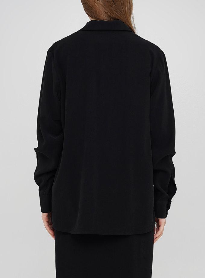 Рубашка с вырезом AY_3261, фото 1 - в интернет магазине KAPSULA