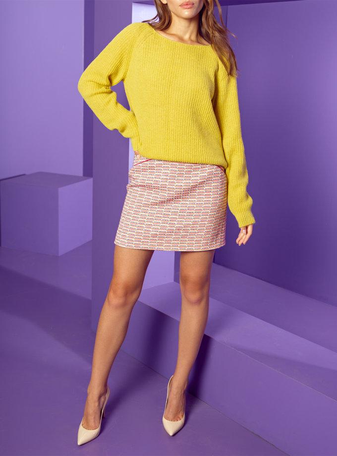 Хлопковая юбка мини Laura WKMF_67_3, фото 1 - в интернет магазине KAPSULA