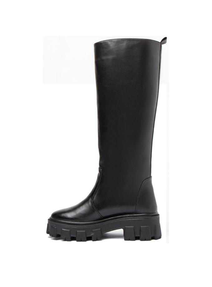 Шкіряні чоботи Black Gosh LA_GOSH _BL, фото 1 - в интернет магазине KAPSULA
