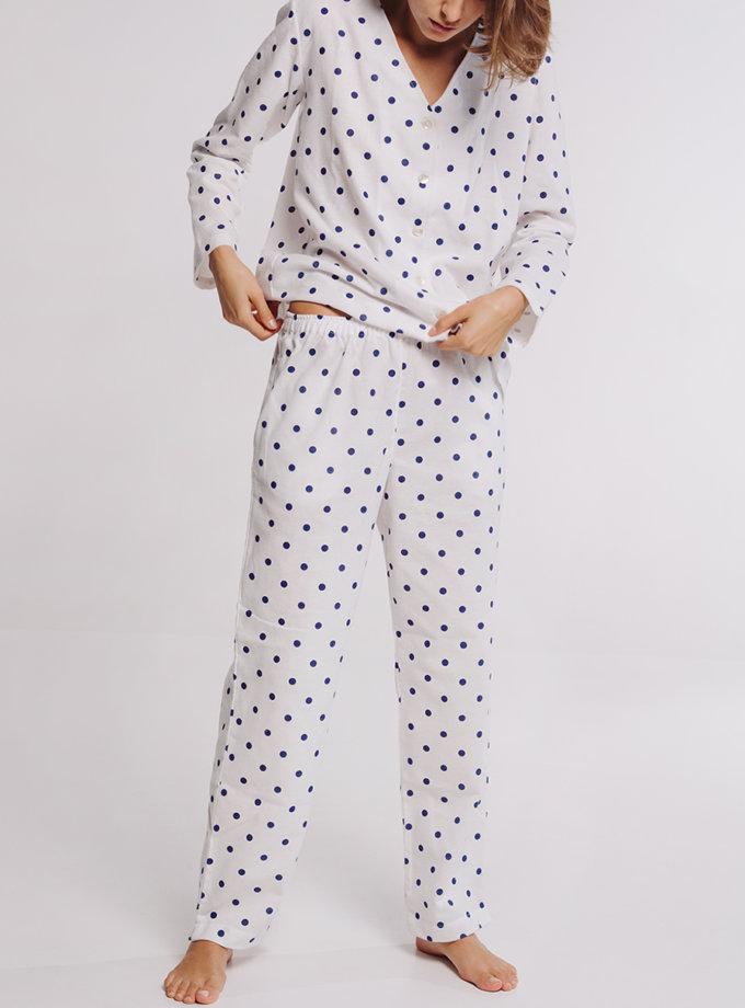 Хлопковый комплект с брюками BLCGR_BLCN_749_750, фото 1 - в интернет магазине KAPSULA