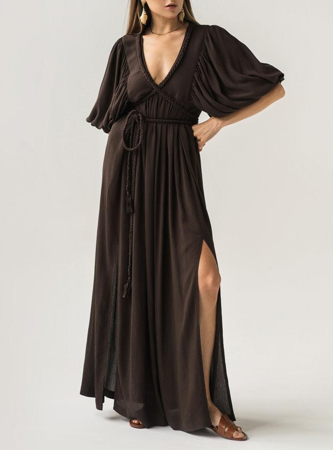 Сукня з зав'язками KLSV_AK_FW_2021_6, фото 1 - в интернет магазине KAPSULA